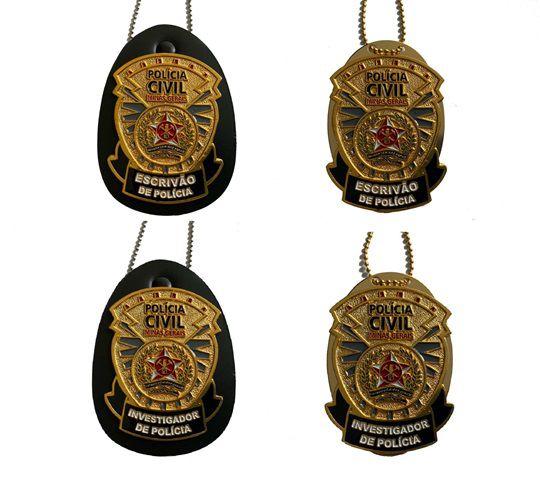 Distintivo Policia Civil do Estado de Minas Gerais - PCMG - Oficial Lançamento