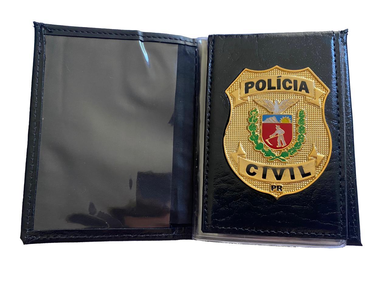 POLÍCIA CIVIL DO ESTADO DO PARANÁ - PCPR NOVO BRASÃO PCEPR