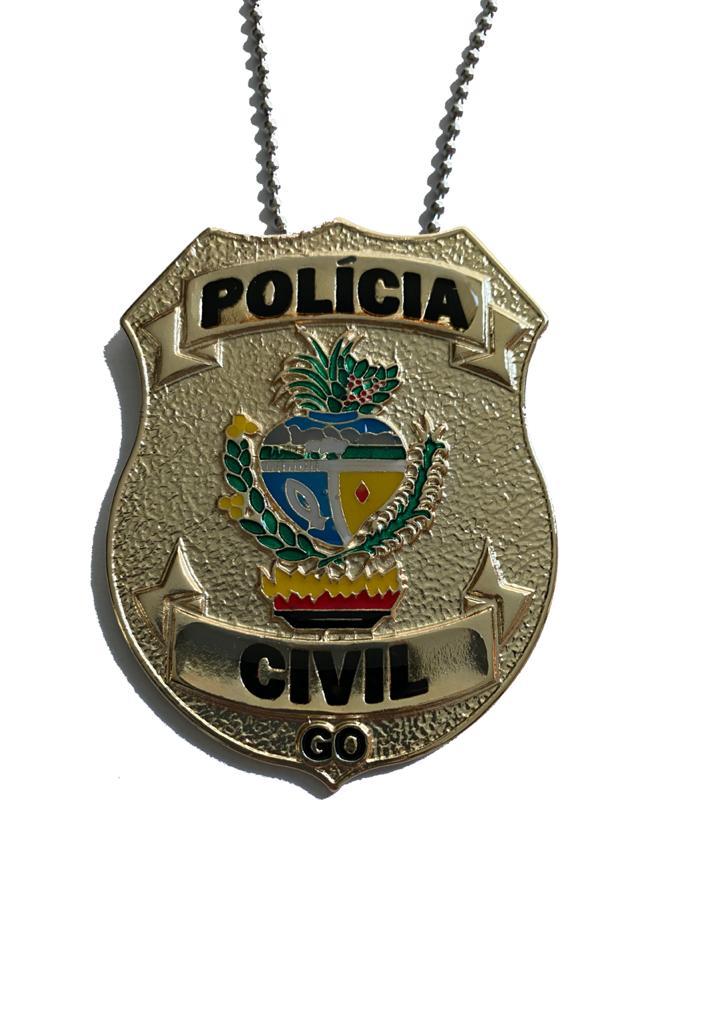 POLÍCIA CIVIL GOIÁS - PCGO NOVO BRASÃO