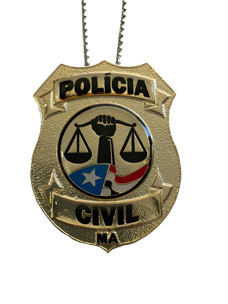 POLÍCIA CIVIL MARANHÃO - PCMA NOVO BRASÃO