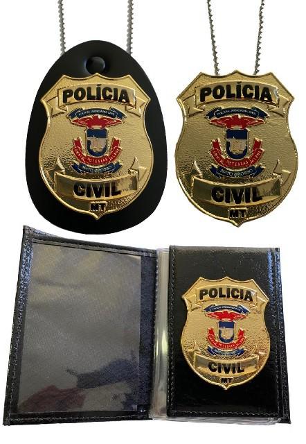 POLÍCIA CIVIL MATO GROSSO - PCMT NOVO BRASÃO