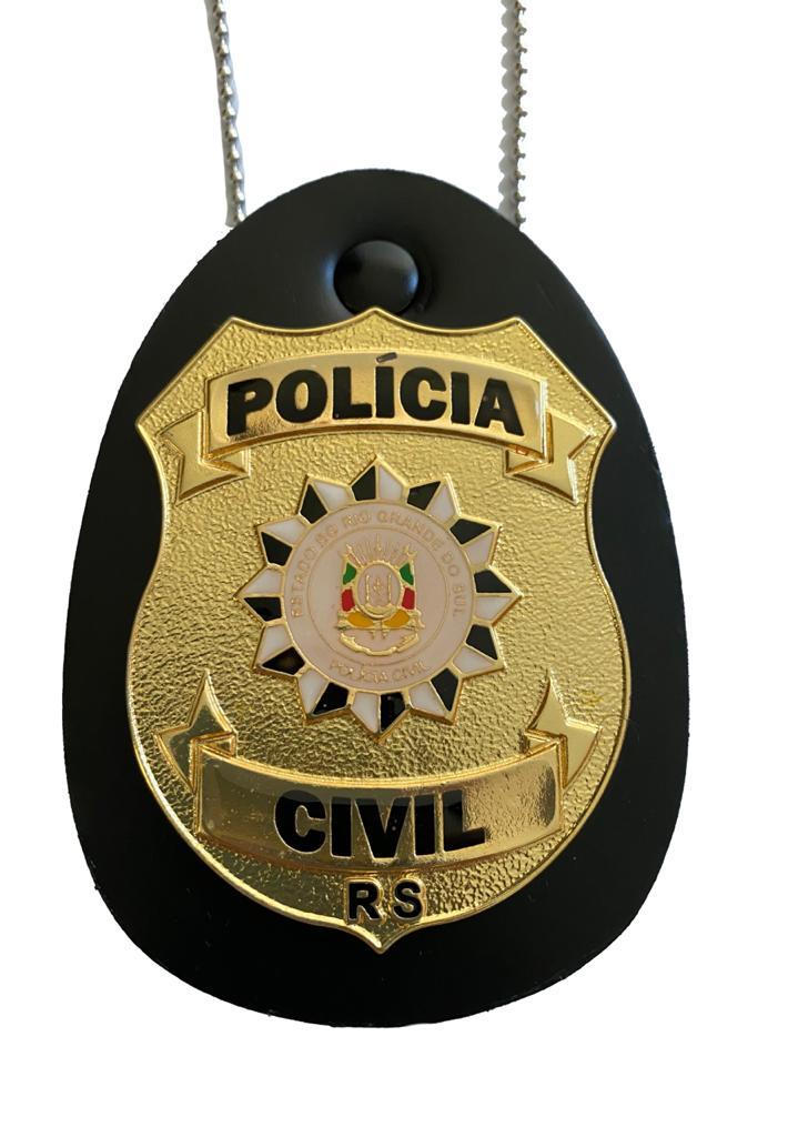 POLÍCIA CIVIL RIO GRANDE DO SUL - PCRS NOVO BRASÃO