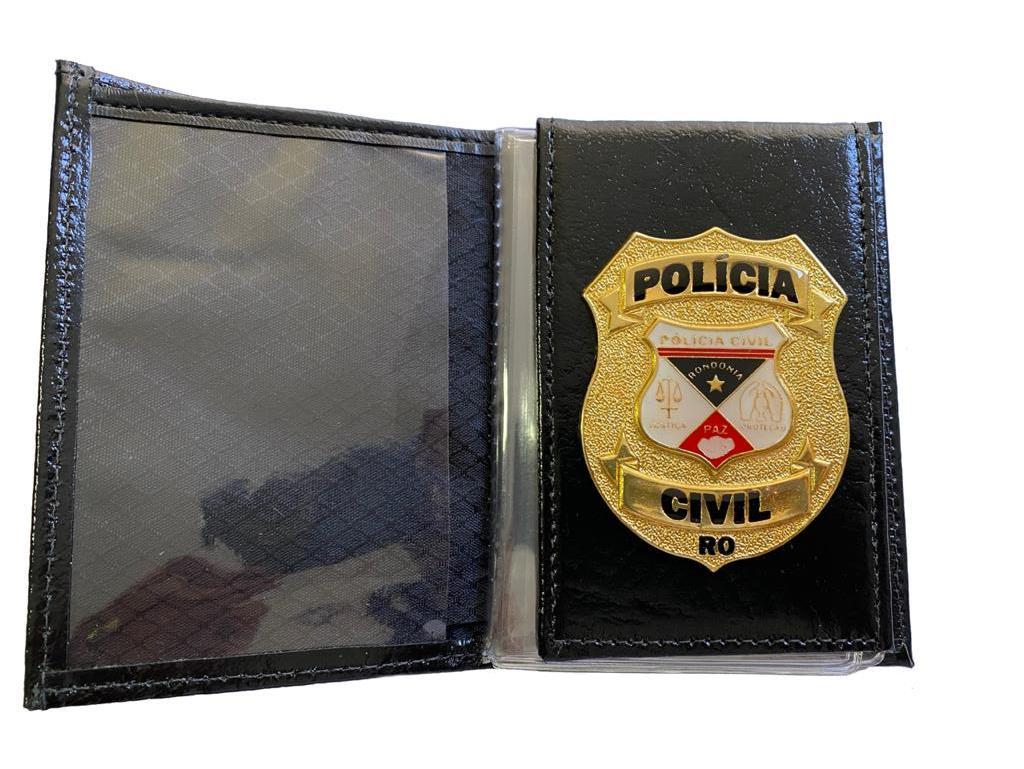 POLÍCIA CIVIL RONDÔNIA - PCRO NOVO BRASÃO