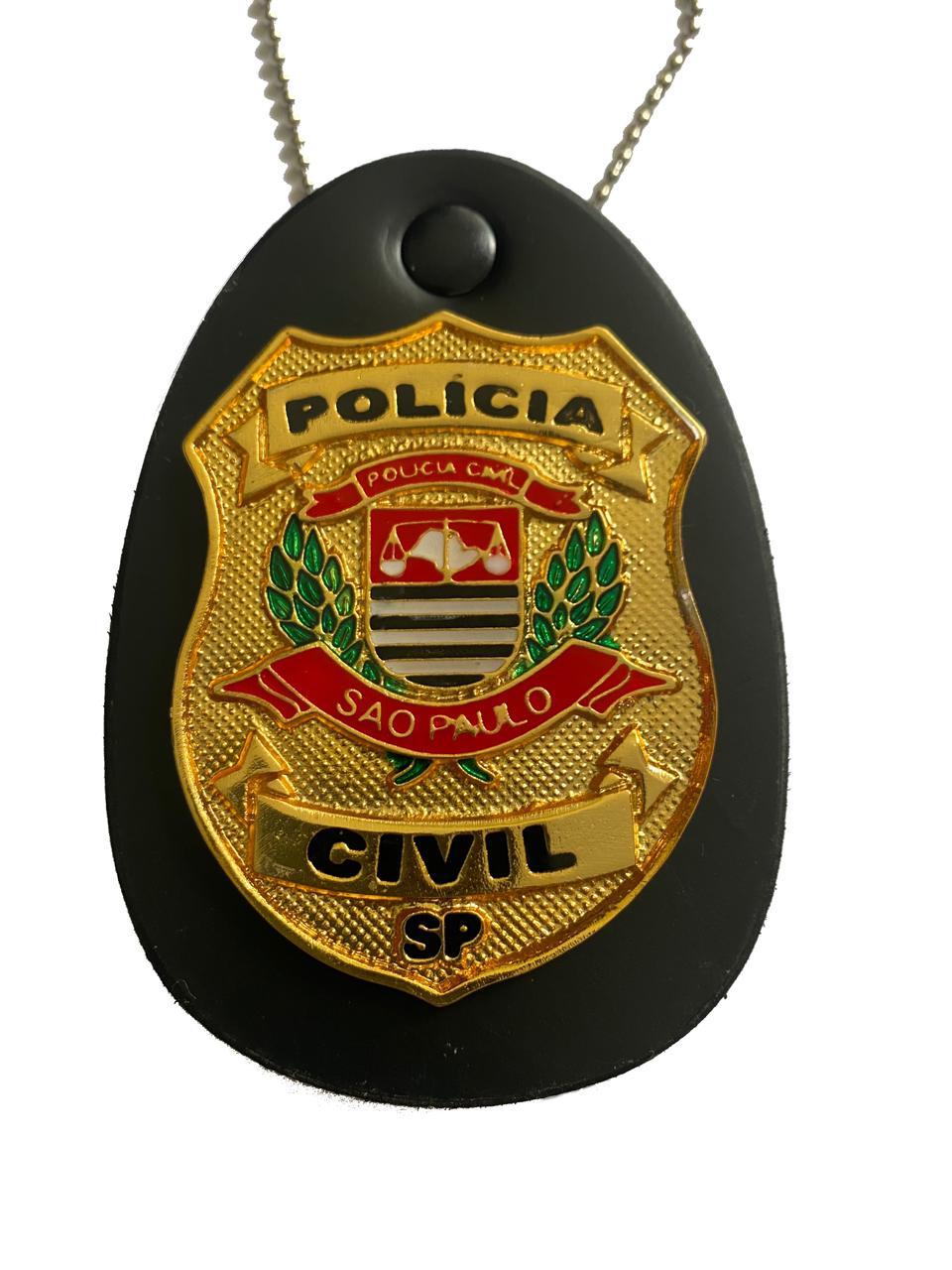 POLÍCIA CIVIL SÃO PAULO - PCSP NOVO BRASÃO PCESP