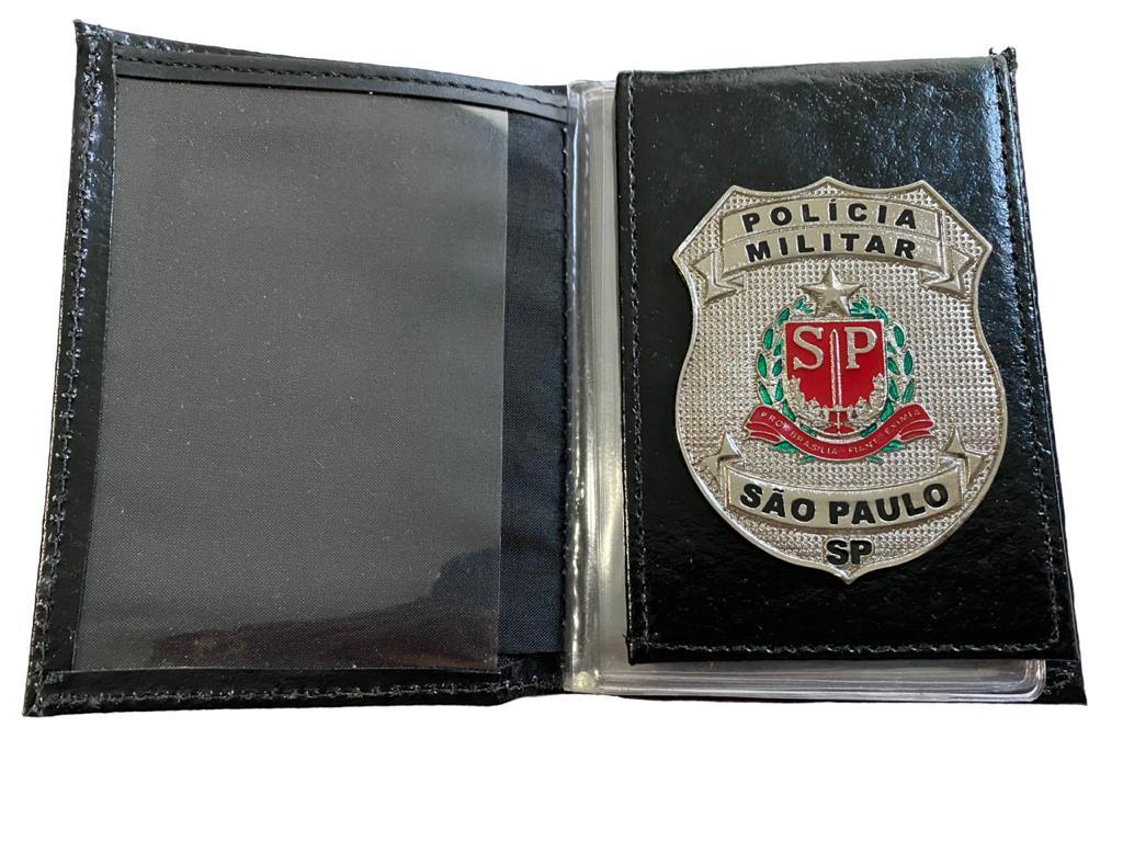 POLÍCIA MILITAR DO ESTADO DE SÃO PAULO - BRASÃO PRATA NOVO - PMESP