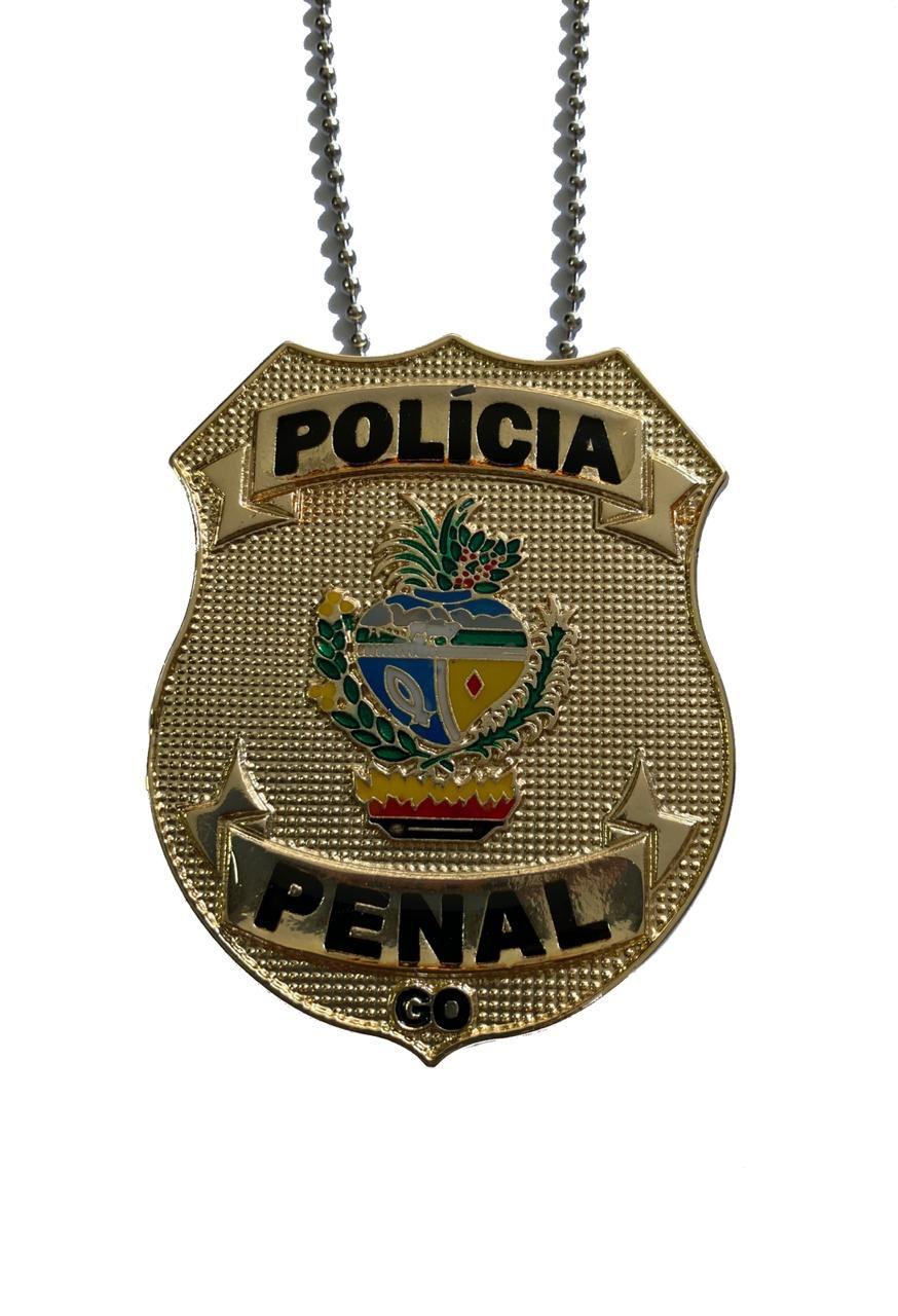 Policia Penal Distintivo sem borda Estados: BA, CE, DF, ES, FEDERAL, GO, MA, MG, MT, NACIONAL, PA, PI, RO, RR, TO