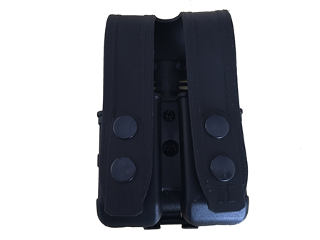Porta Carregador Duplo Maynard's em polímero universal (opção de uso deitado ou em pé)