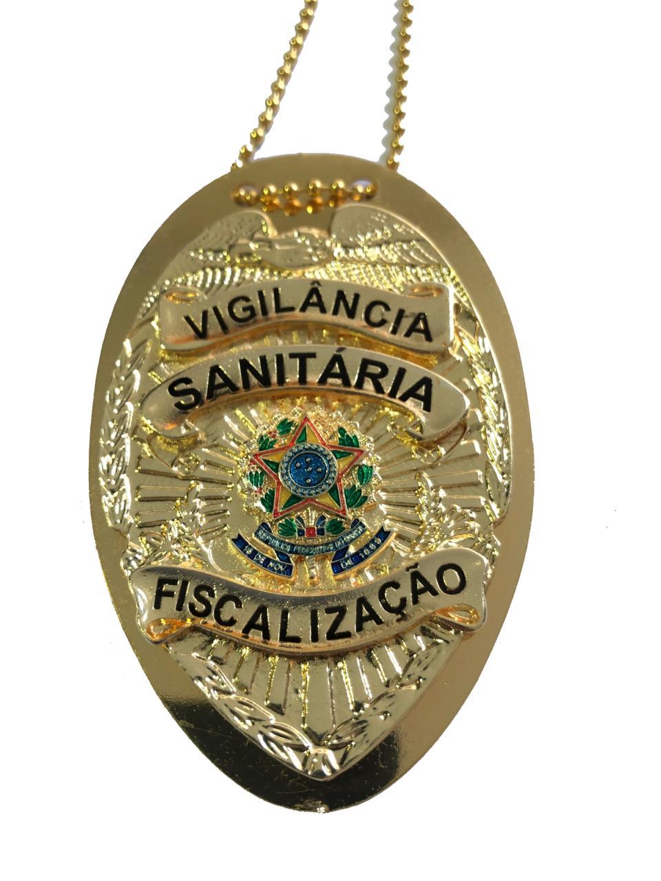Vigilancia Sanitaria Fiscalização mod Águia Brasão Nacional