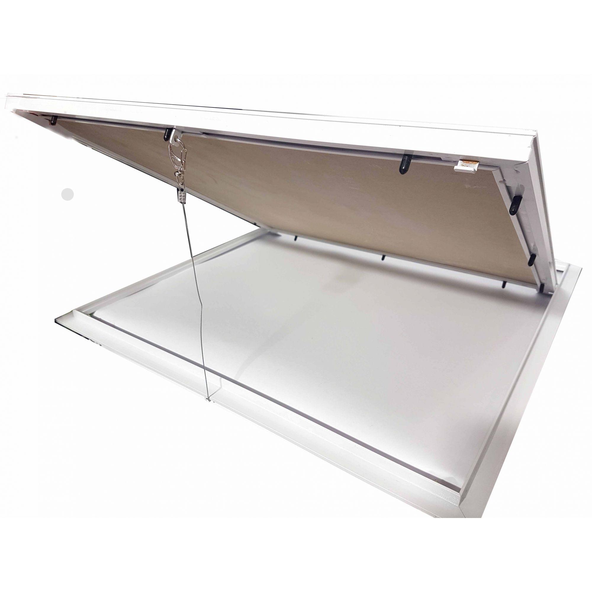 Alçapão Com Tampa Para Forro De Gesso Drywall 60x60 cm