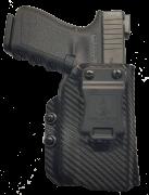 Coldre Kydex G23/G25 com lanterna Baldr mini