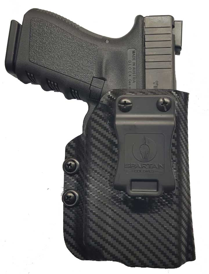 Coldre Kydex G23 com laterna Oligth PL MINI 2