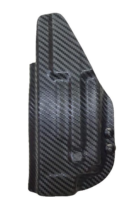 Coldre Kydex G25/G19/G23/G19x/G45 com lanterna Surefire xc1