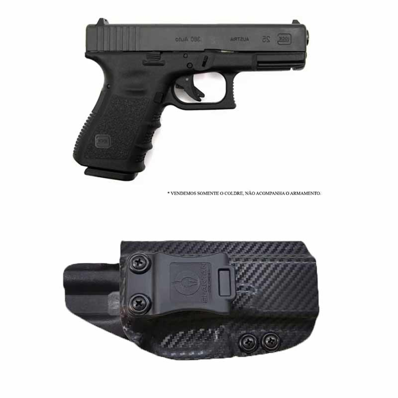 Coldre Kydex Glock G25/G19/G23