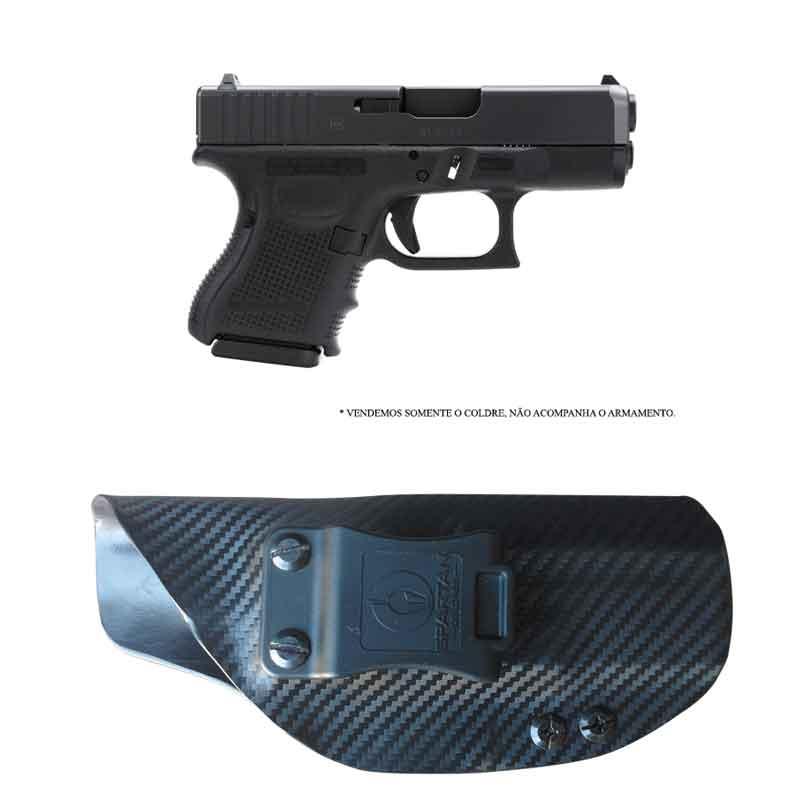 Coldre Kydex Glock G28/G26