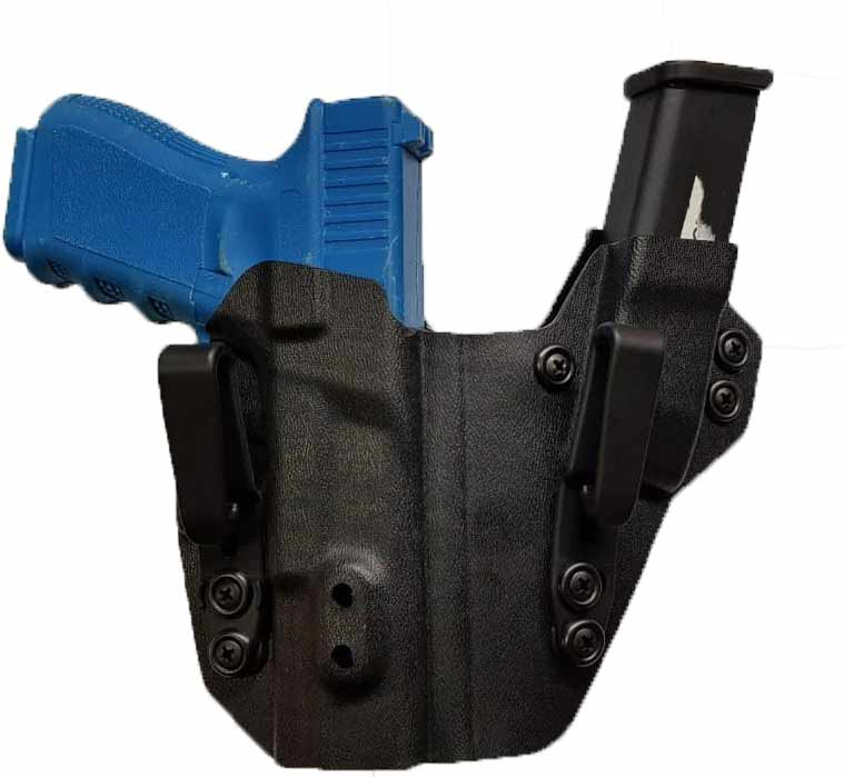 Coldre Kydex Sidecar G25/G19/G23 - Destro
