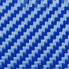 Police Blue Textura de Fibra de Carbono