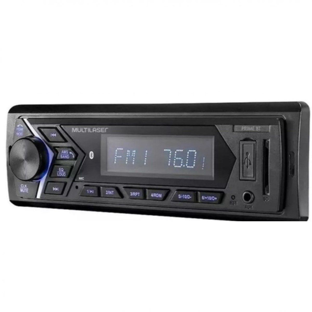AUTORADIO PRIME BLUETOOTH MP3 LCD 4X45WRMS FM/SD/USB/AUX APP (05)
