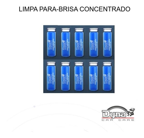 Car Care Dyna Kit 10 Limpa Parabrisa Concentrado