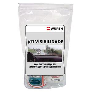 Kit Visibilidade Wurth (Anti Embacante 60ml e Water Off 30ml)