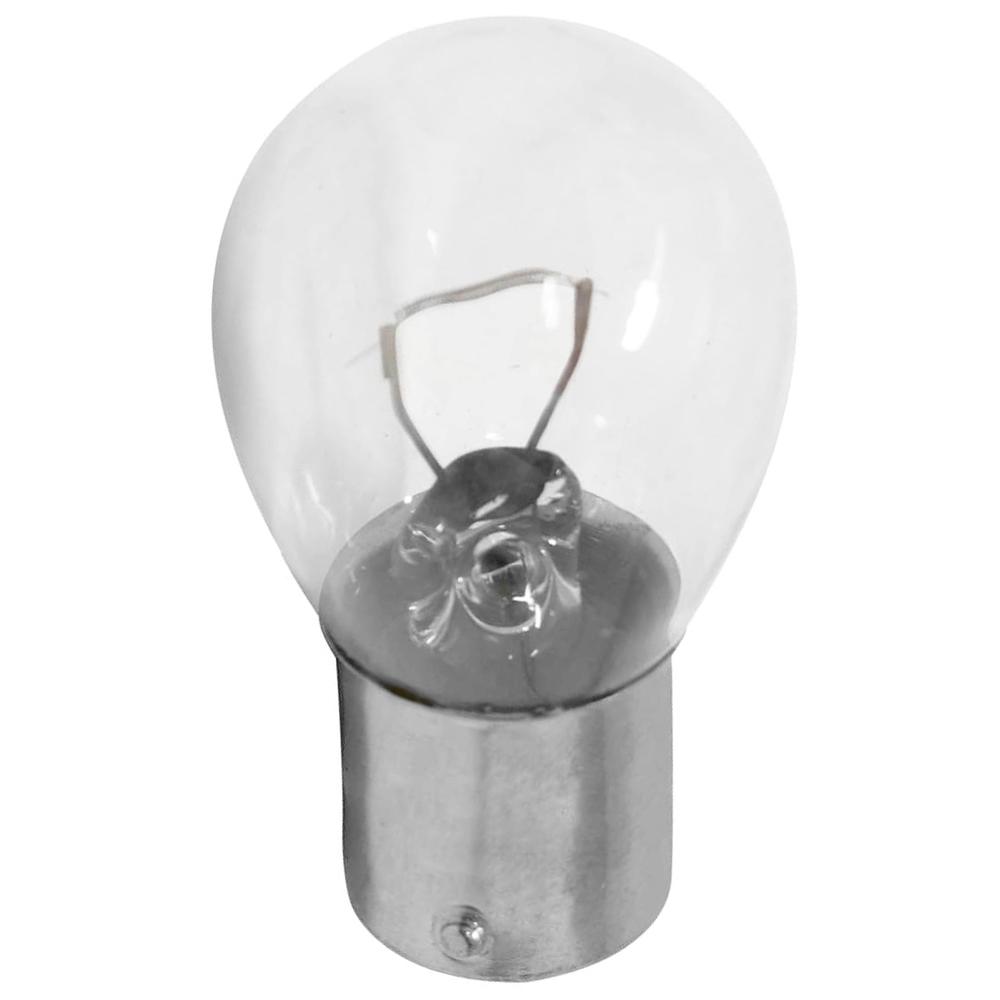 Lâmpada de Freio 1P S25 21W 24V BA15S Clara 10 unidades - Multilaser