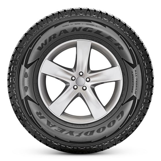 Pneu  Goodyear 31x10.5R15 Wrangler All Terrain Adventurer 109S E C 73db