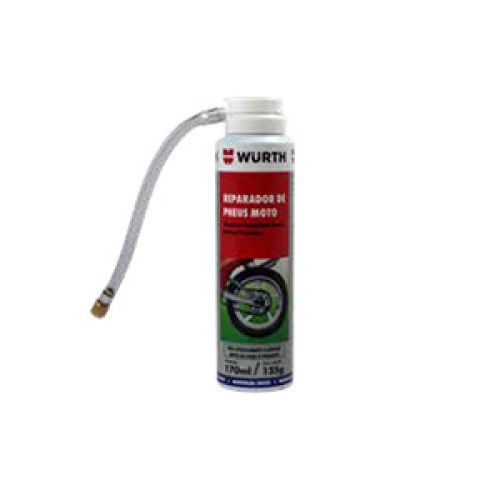 Reparador de Pneus Moto 170ML/125G - Wurth