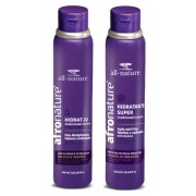 Hidratante Super Ativador de Cachos 310ml + Hidrat 22 Creme Sem Enxague 310ml All Nature