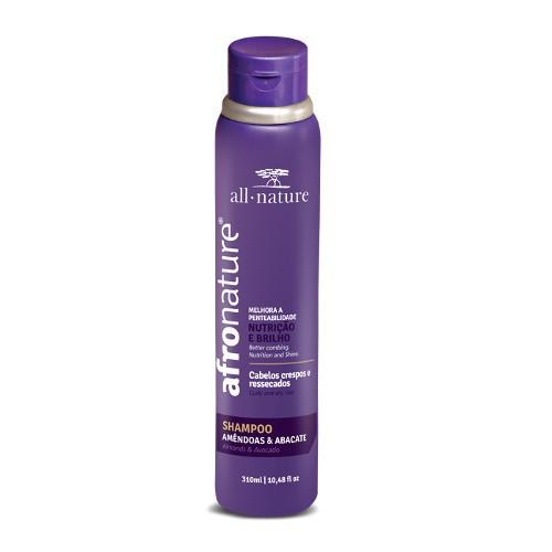 Shampoo Amêndoas e Abacate  All Nature