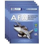-Conjunto Completo de Apostila - Academia da Força Aérea - AFA
