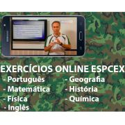 Exercícios em vídeo EsPCEx