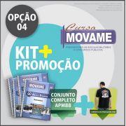Kit 04 Conjunto Academia Barro Branco