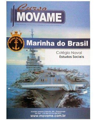 Apostila Estudos Sociais Colégio Naval  - MOVAME CURSOS EDUCACIONAIS