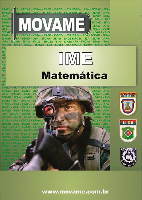 Apostila Matemática IME  - MOVAME CURSOS EDUCACIONAIS