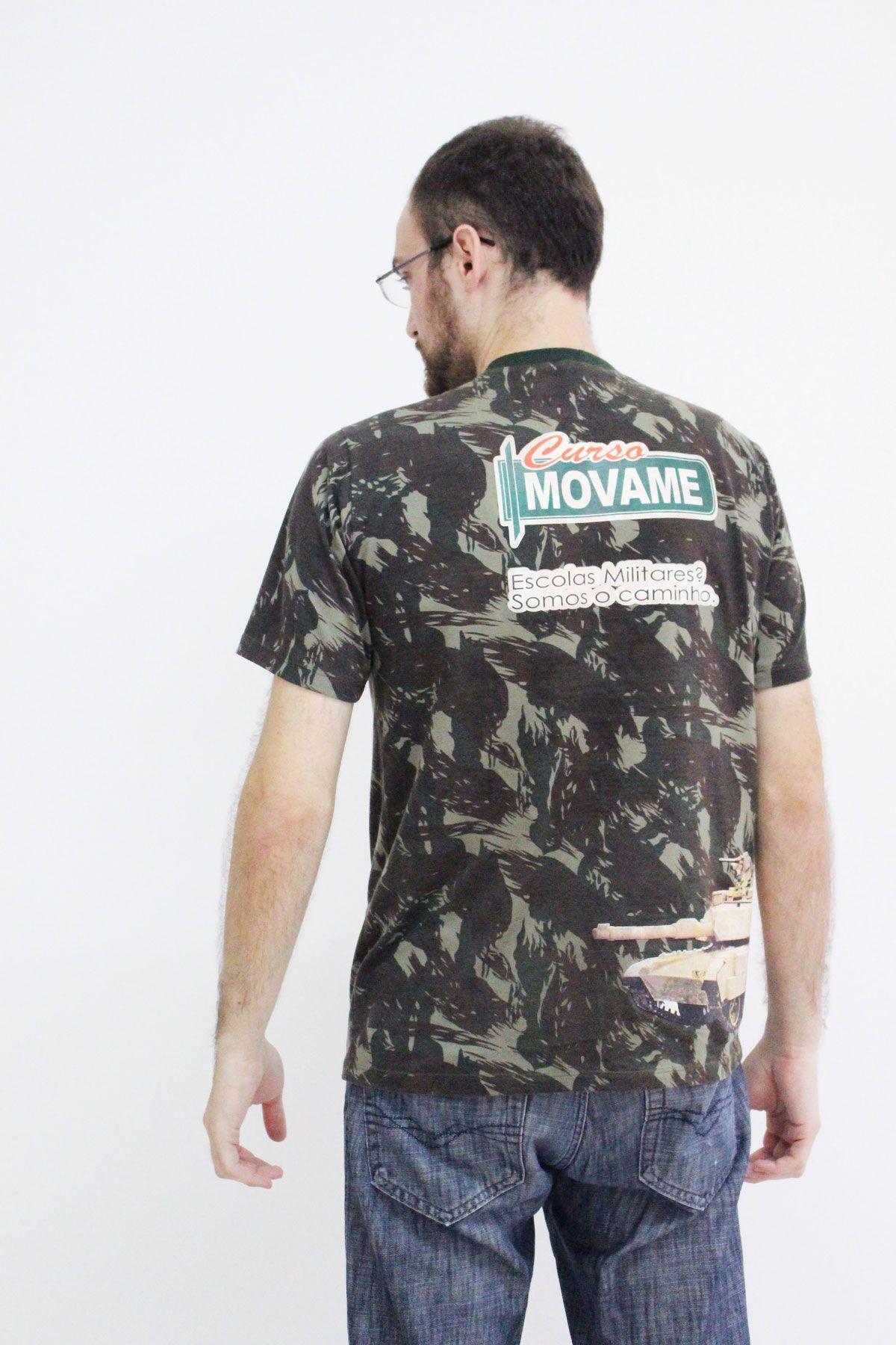 Camiseta Exército  - MOVAME CURSOS EDUCACIONAIS