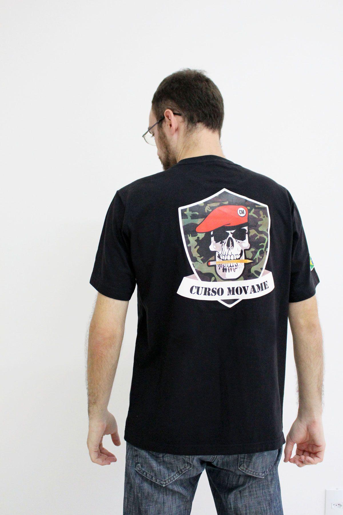 Camiseta Polícia Militar  - MOVAME CURSOS EDUCACIONAIS