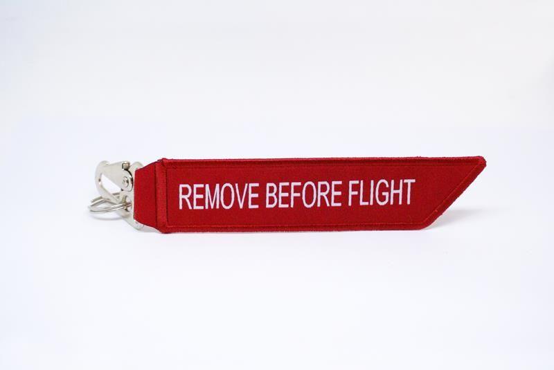 Chaveiro Gripen  NG - Remove Before Flight  - MOVAME CURSOS EDUCACIONAIS