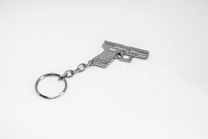 Chaveiro Pistola Glock  - MOVAME CURSOS EDUCACIONAIS