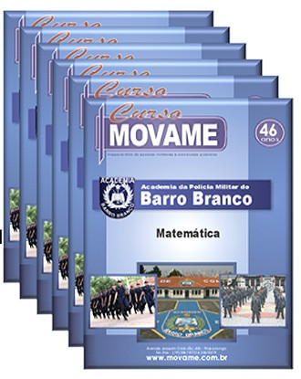 Conjunto Completo de Apostila - Academia Barro Branco - APMBB  - MOVAME CURSOS EDUCACIONAIS