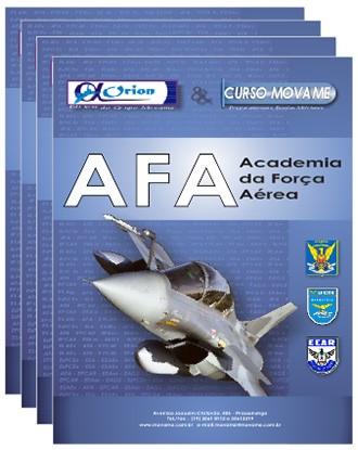 -Conjunto Completo de Apostila - Academia da Força Aérea - AFA  - MOVAME CURSOS EDUCACIONAIS