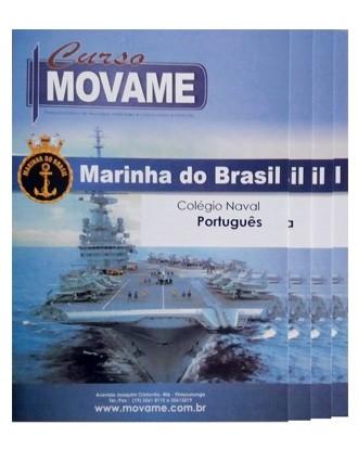 -Conjunto Completo de Apostila - Colégio Naval  - MOVAME CURSOS EDUCACIONAIS