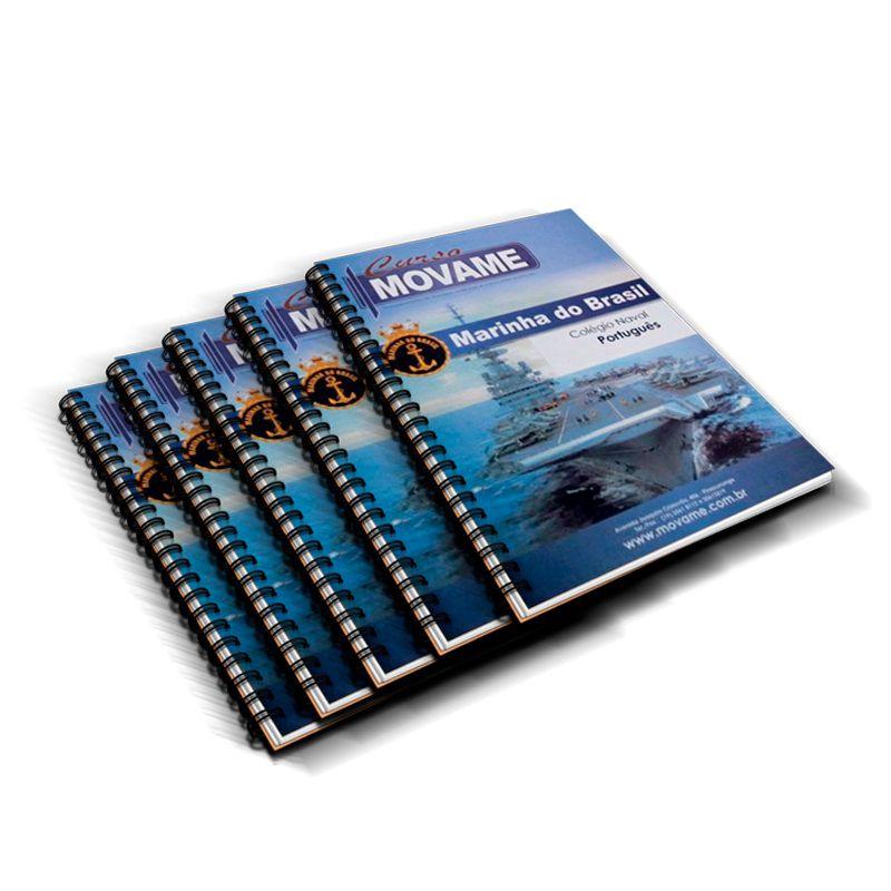 Conjunto de Apostila Colégio Naval  - MOVAME CURSOS EDUCACIONAIS