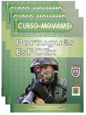Conjunto Completo de Apostila - Escola de Formação Complementar do Exército - EsFCEx  - MOVAME CURSOS EDUCACIONAIS