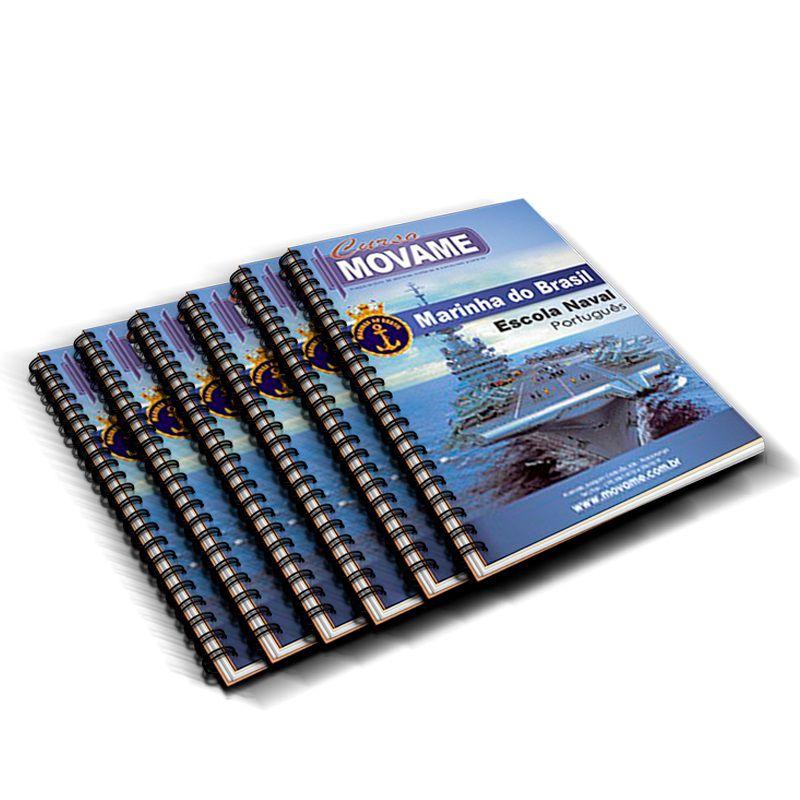 -Conjunto Completo de Apostila Escola Naval EN  - MOVAME CURSOS EDUCACIONAIS