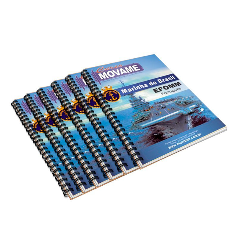 Conjunto de Apostila Marinha Mercante EFOMM  - MOVAME CURSOS EDUCACIONAIS