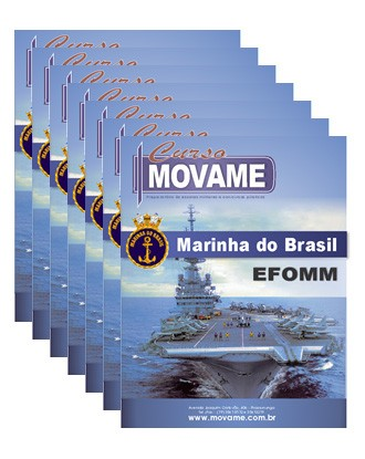 Conjunto Completo de Apostila - Marinha Mercante - EFOMM  - MOVAME CURSOS EDUCACIONAIS