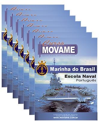 -Conjunto Completo de Apostila - Escola Naval - EN  - MOVAME CURSOS EDUCACIONAIS