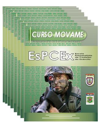 Conjunto Completo de Apostila - Escola Preparatório de Cadetes do Exército - EsPCEx  - MOVAME CURSOS EDUCACIONAIS