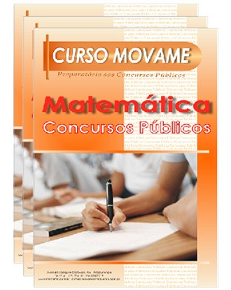 Conjunto de Apostila Concurso Público  - MOVAME CURSOS EDUCACIONAIS