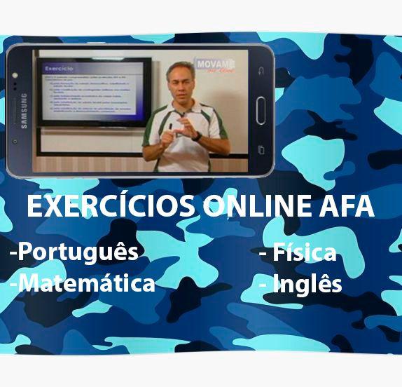 Exercícios em vídeo AFA  - MOVAME CURSOS EDUCACIONAIS