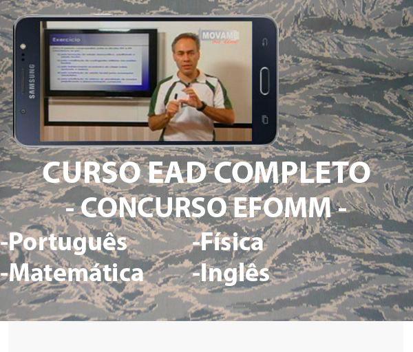 Exercícios em vídeo EFOMM  - MOVAME CURSOS EDUCACIONAIS